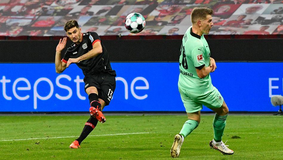 Erzielte sieben Treffer in den vergangenen vier Ligaspielen: Lucas Alario