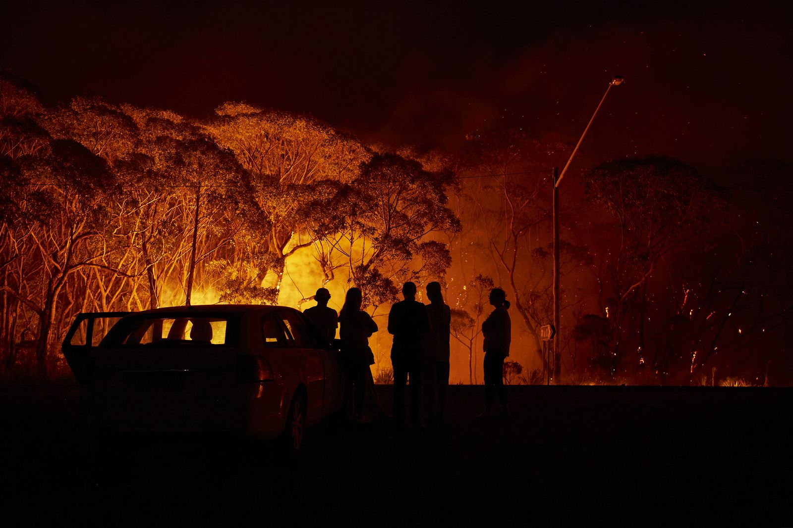 Evacuation Notices Issued Across NSW As Firefighters Prepare For Dangerous Bushfire Conditions