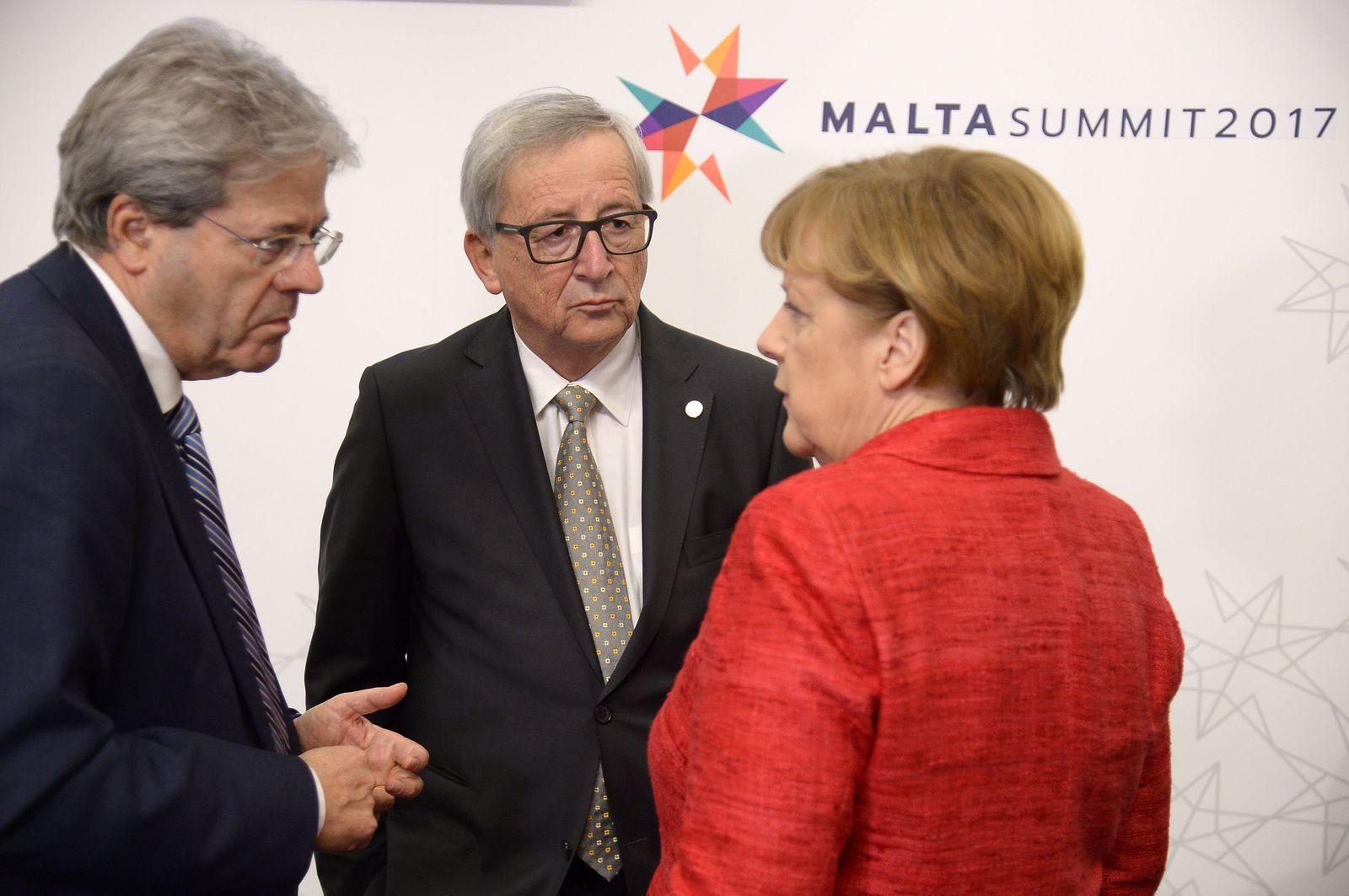 Juncker / Merkel