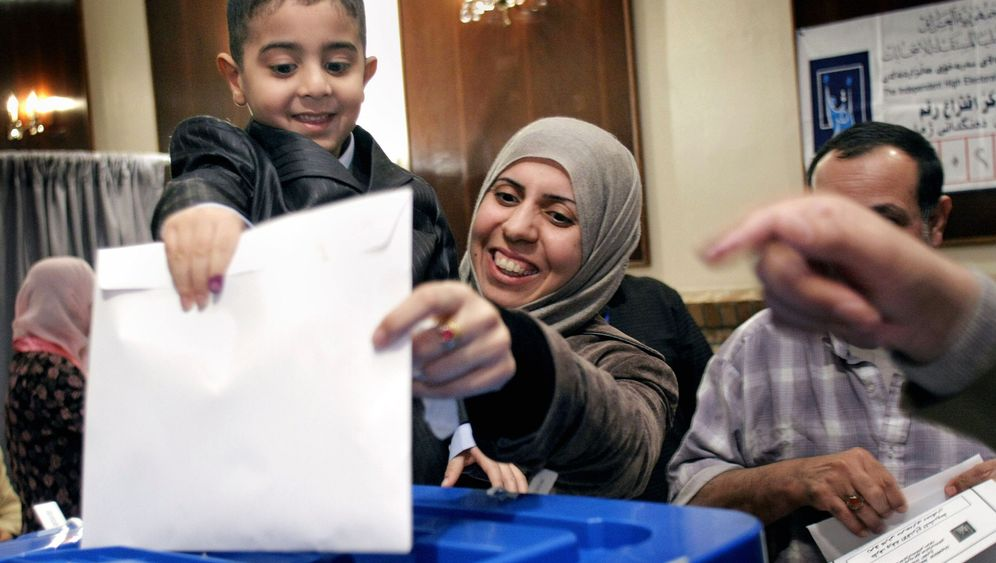 Wahltag im Irak: Abstimmung unter Beschuss