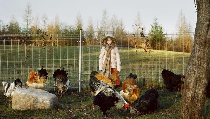 Künstler, Landwirte und Holzarbeiter: Menschen aus Brandenburg