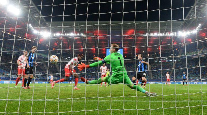 Mats Rits erzielte das 1:2 gegen Torwart Péter Gulácsi