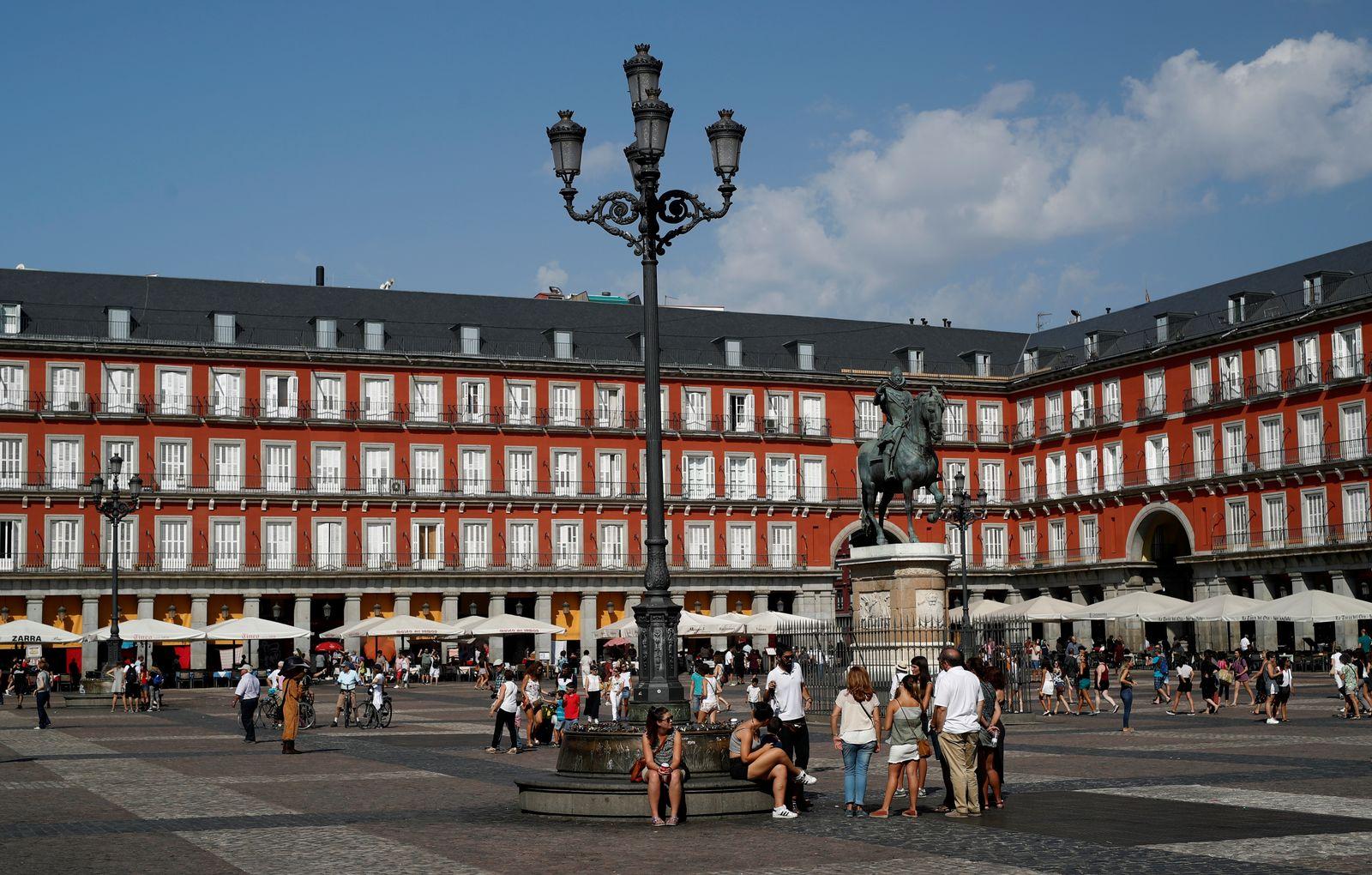 Spanien / Touristen