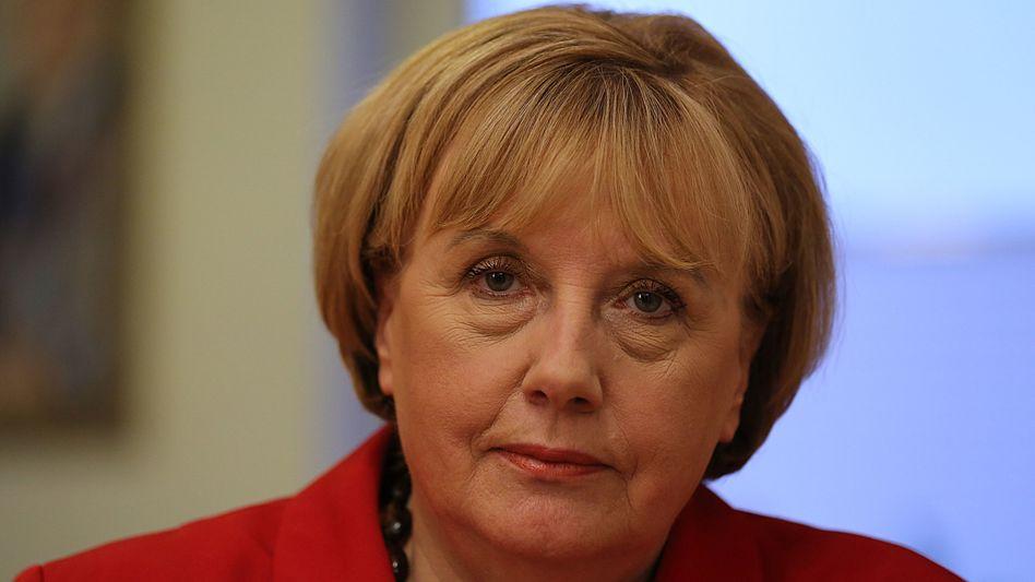 Merkel-Double Ursula Wanecki