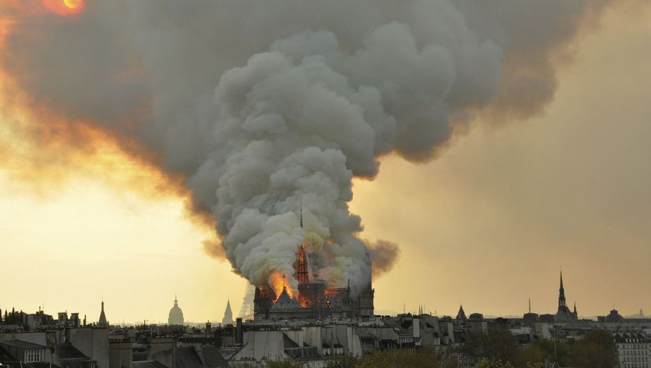 The world watched as Notre Dame burned on Monday evening.