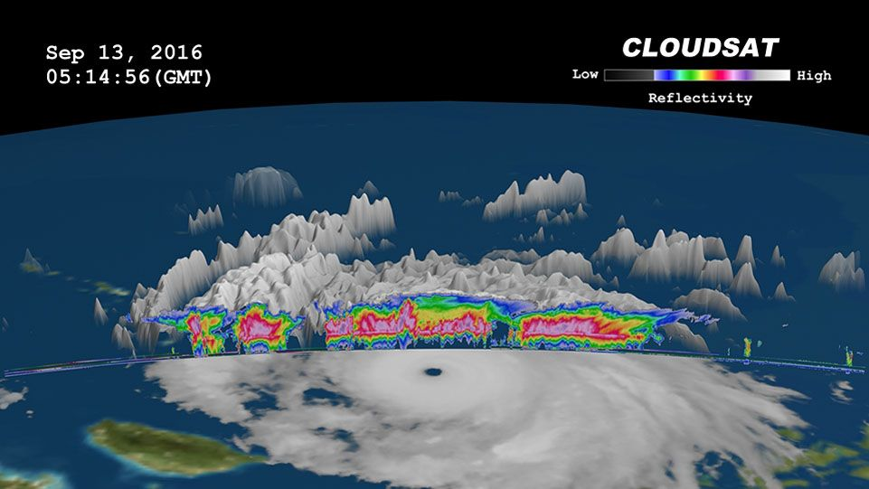 EINMALIGE VERWENDUNG CloudSat/ Typhoon Meranti/ Sept. 13