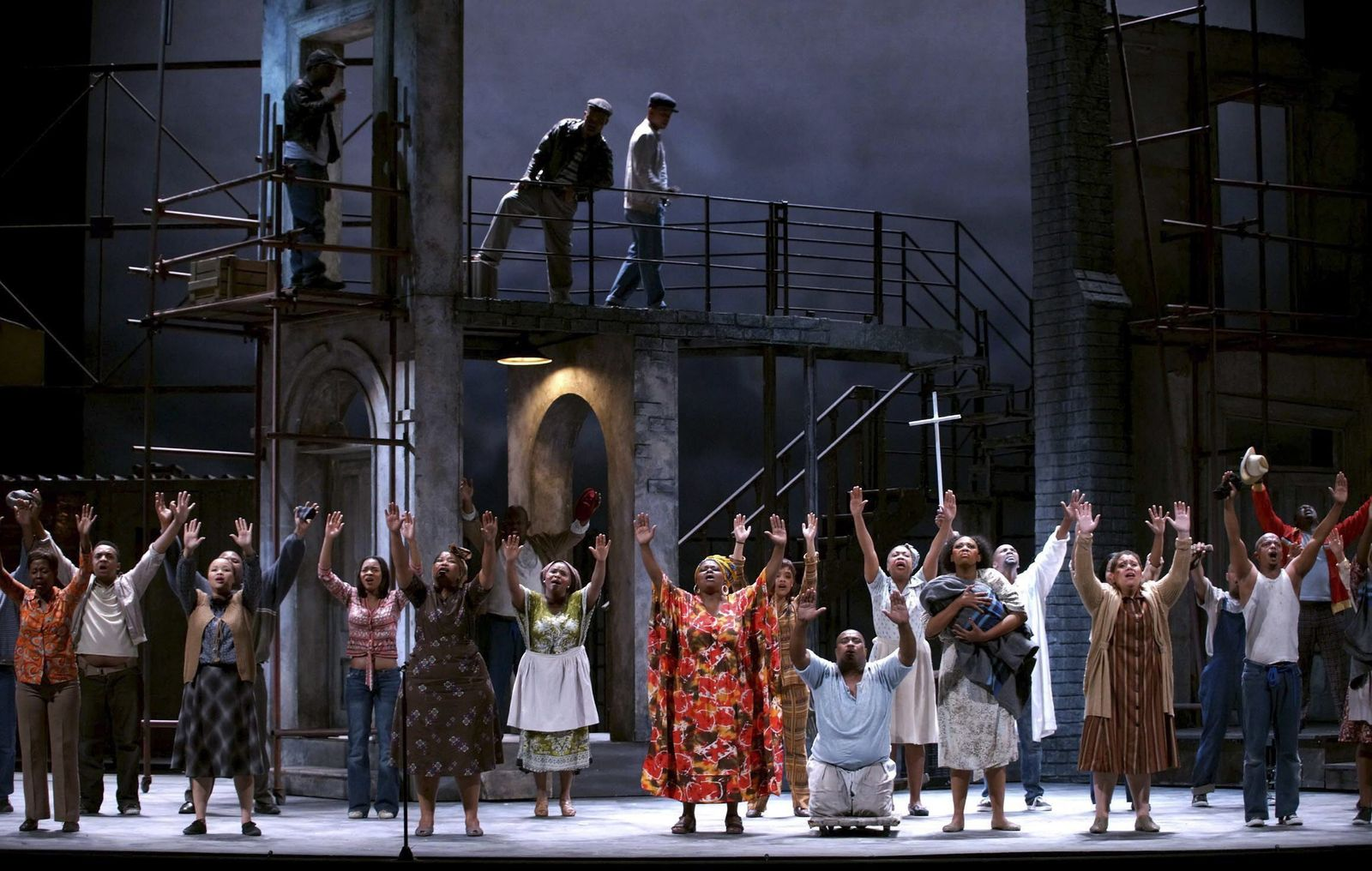Porgy and Bess opera premieres in Madrid