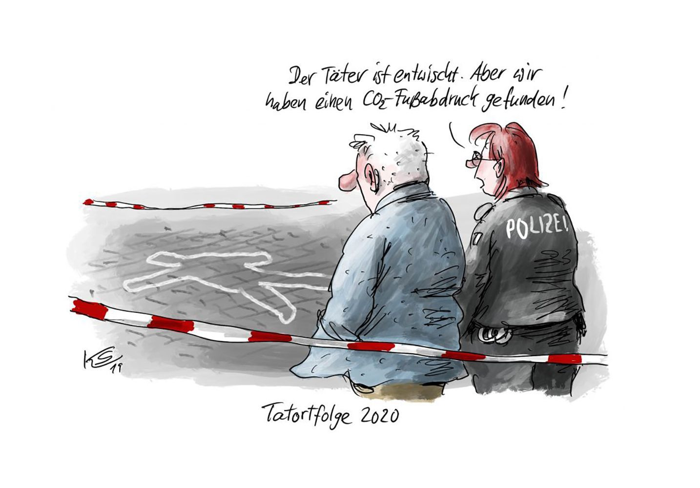 EINMALIGE VERWENDUNG Cartoons/ 01.01.20