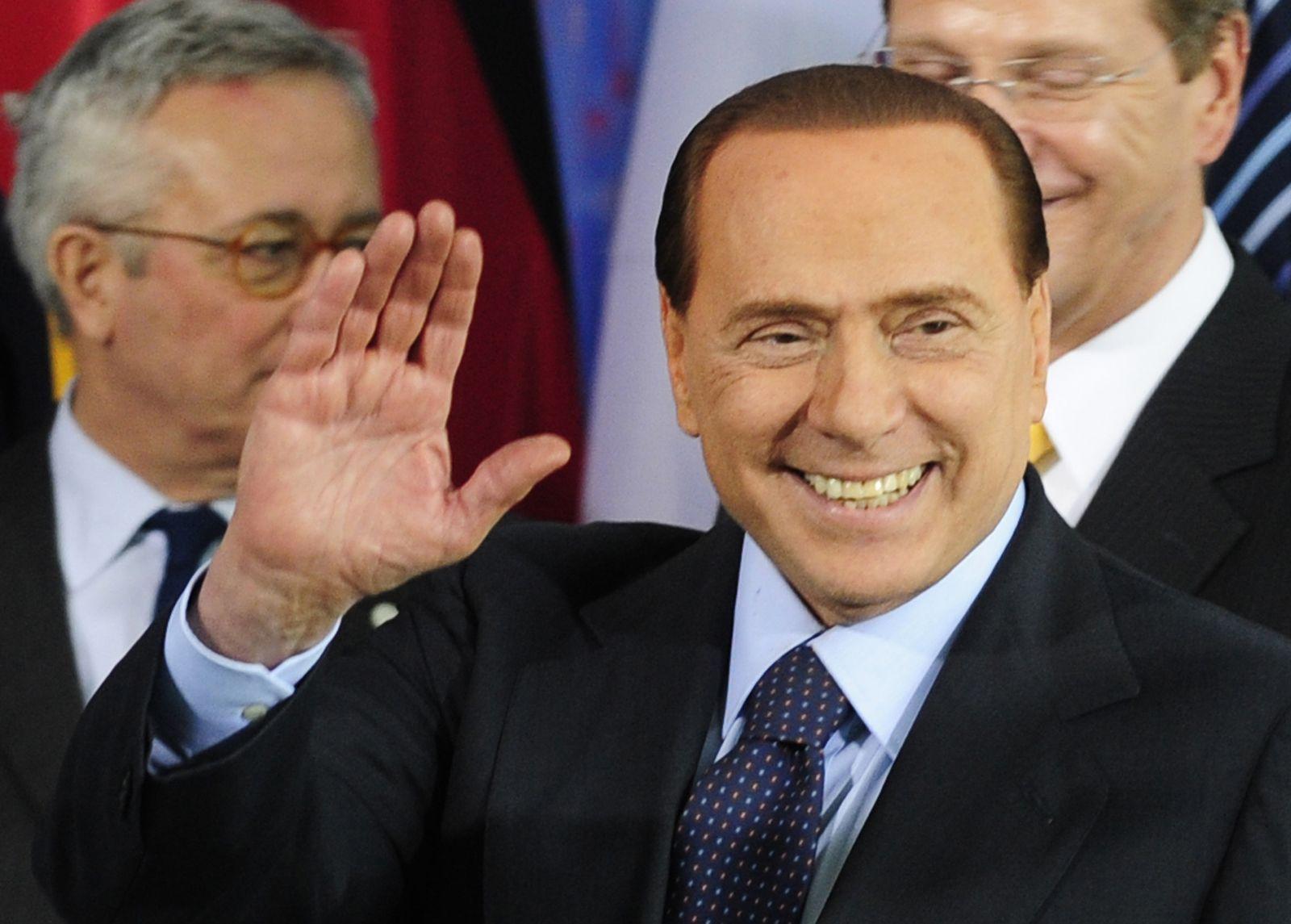 Berlusconi froh