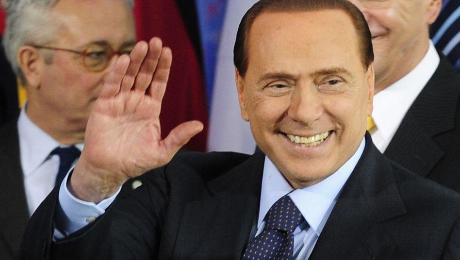 Italiens Premier Berlusconi: Will Rechte von Richtern einschränken