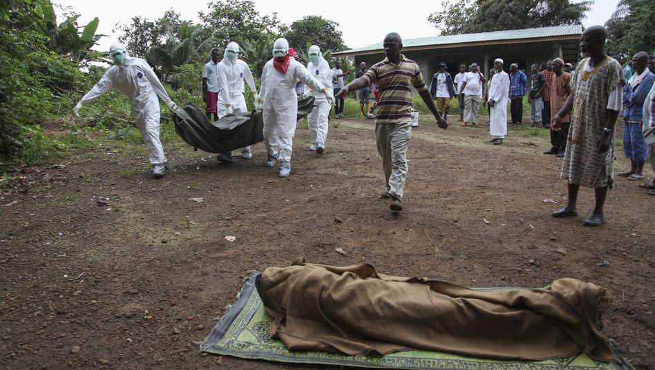 """Ebola-Opfer in Liberia: """"Unwissenheit und Armut tragen weiter zur Ausbreitung der Krankheit bei"""""""