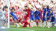 Chelsea erkämpft sich in Unterzahl einen Punkt in Liverpool
