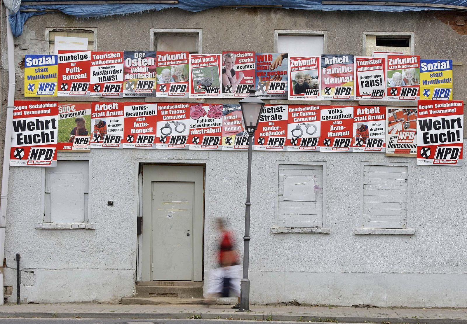 NPD Wahlkampf