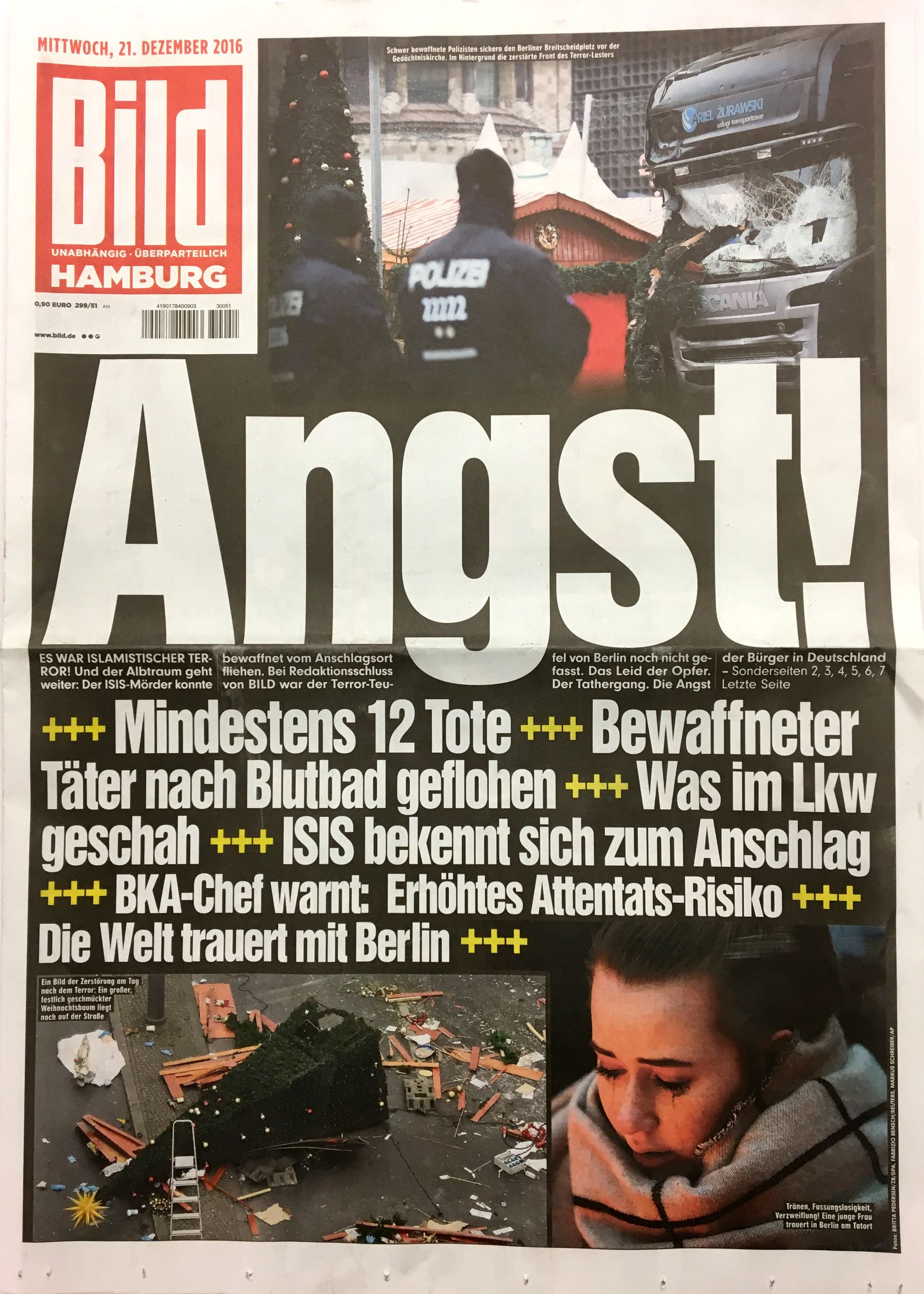 Cover Presseschau BILD