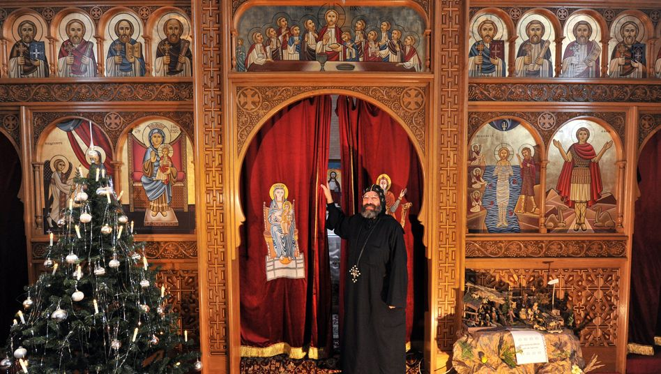 Koptische Kirche in München: Polizeischutz für Gotteshäuser in mehreren Ländern