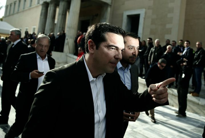 Alexis Tsipras heads up the leftist alliance Syriza. He has promised to revisit austerity and reform should he be elected in upcoming parliamentary elections.