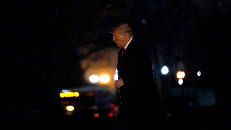 Donald Trump ??? ein Pr??sident mit zwei Amtsenthebungsverfahren