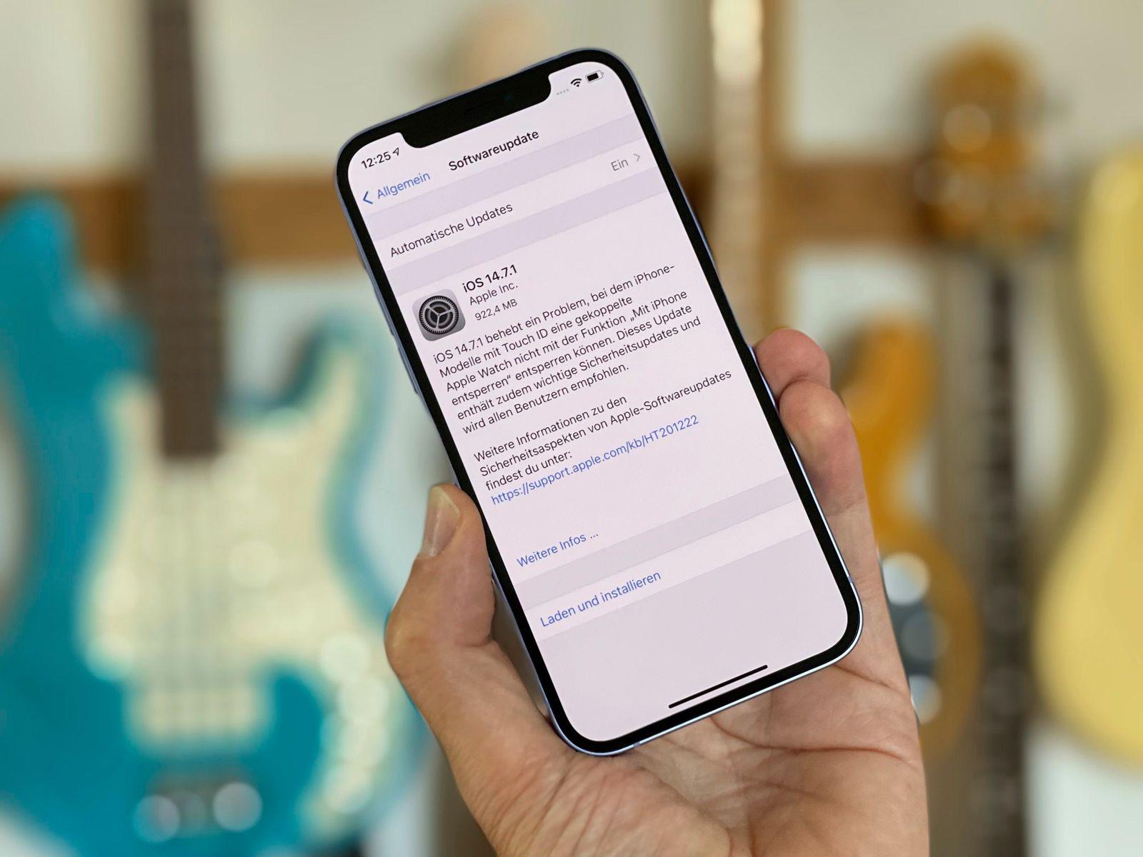 Apple iPhone iOS 14.7.1