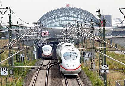 ICE 3: In Moskau und München wird an Plänen für einen russischen Schnellzug auf Siemens-Technologie gefeilt. Er soll etwas langsamer fahren als ein deutscher ICE