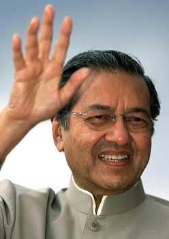 Malaysias Regierungschef Mahathir alias Dr. M.: Die Lichtgestalt gibt das Zepter ab