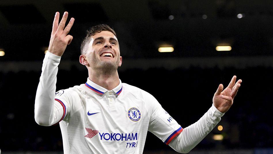Christian Pulisic legte für Chelsea eine Galavorstellung hin