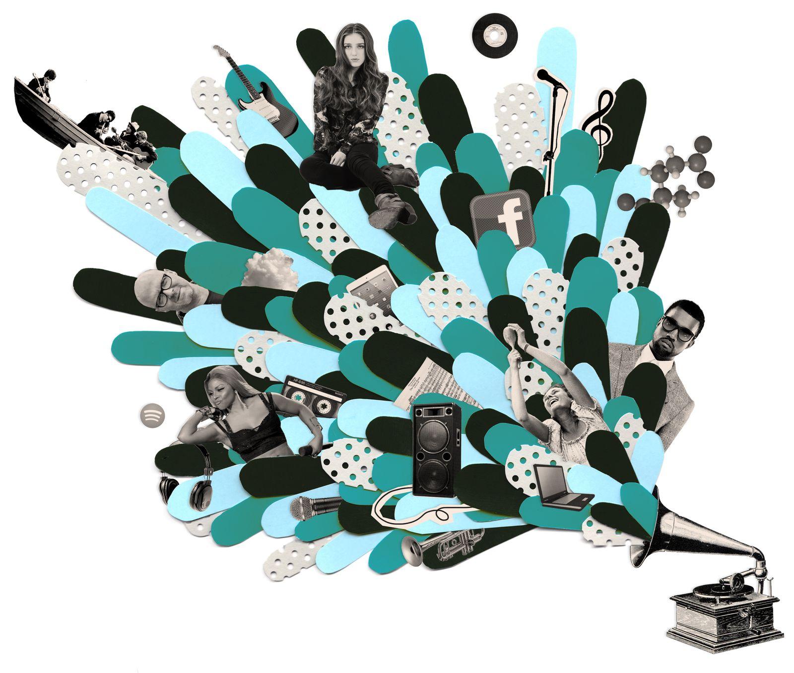 EINMALIGE VERWENDUNG UniSP 5/2013 S. 48 Musikkenner / Illustration
