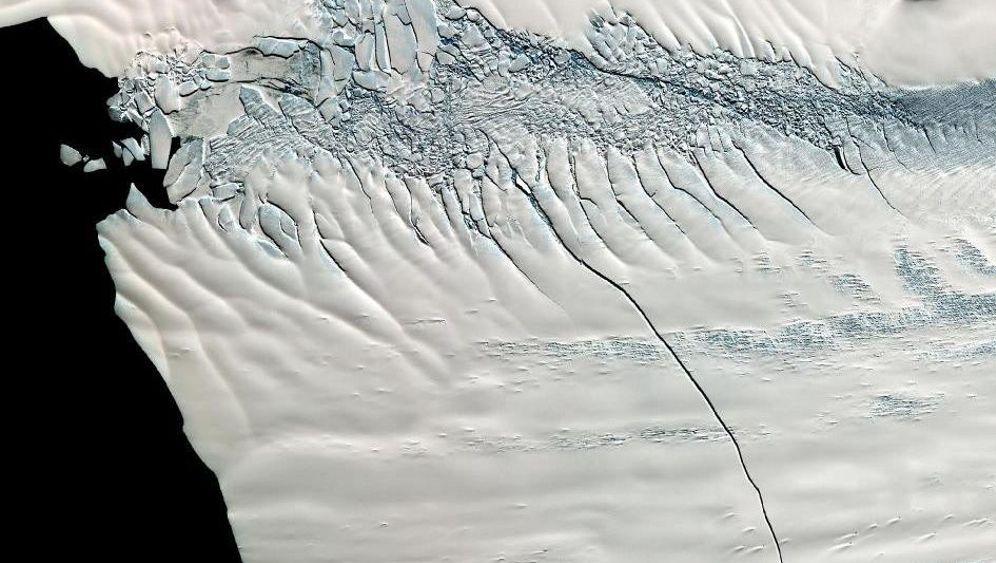 Antarktis: Schelfeis droht Gefahr von unten