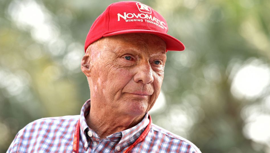 Niki Lauda im April 2017