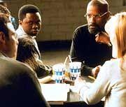 Denzel Washington im Rollkragenpullover