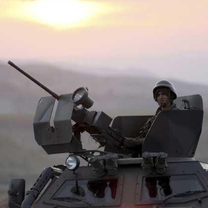 Offensive gegen PKK-Rebellen: Türkische Soldaten an der Grenze zum Irak