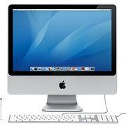 Apple iMac: Der Hersteller verspricht beim 20-Zoll-Modell mehr Farben, als das Gerät darstellen kann