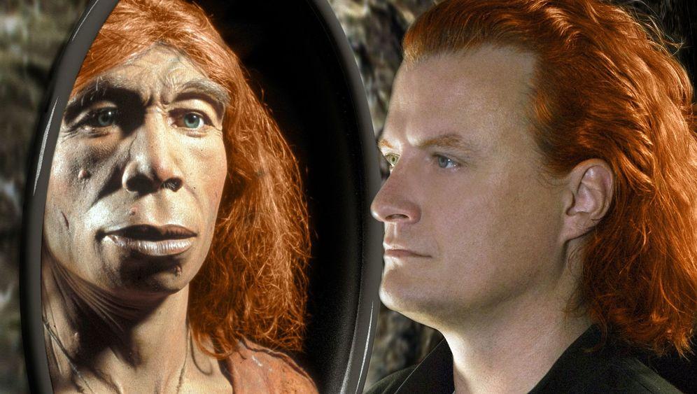 Blass, blond, blauäugig: Der Neandertaler, ein Proto-Europäer
