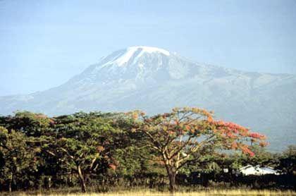 Eisbedeckter Kilimandscharo: Nur noch 20 Jahre?