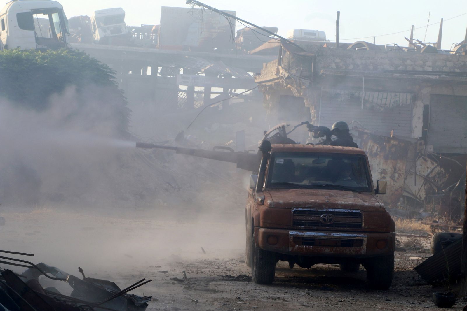 Syrien, Aleppo, Rebellen