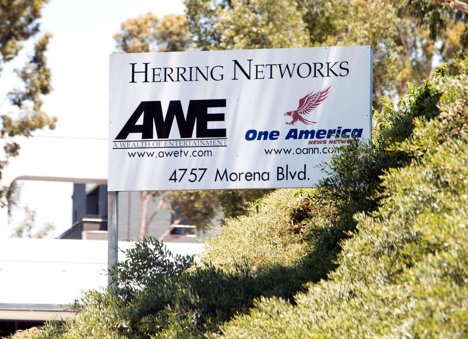 June 10, 2020 - San Diego, California, U.S. - The headquarters of the One America News Network, a small television netwo