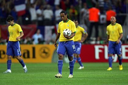Brasilianer Ronaldinho (M.), Teamkollegen: Die Mischung stimmte nicht