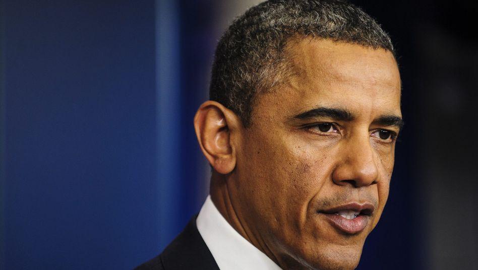 Barack Obama: Der US-Präsident ist weiter verhalten optimistisch im Haushaltsstreit