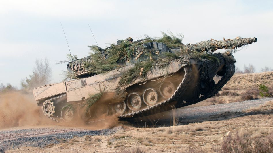 """Panzer """"Leopard 2"""": Ein geplanter Export nach Saudi-Arabien empört Israel"""
