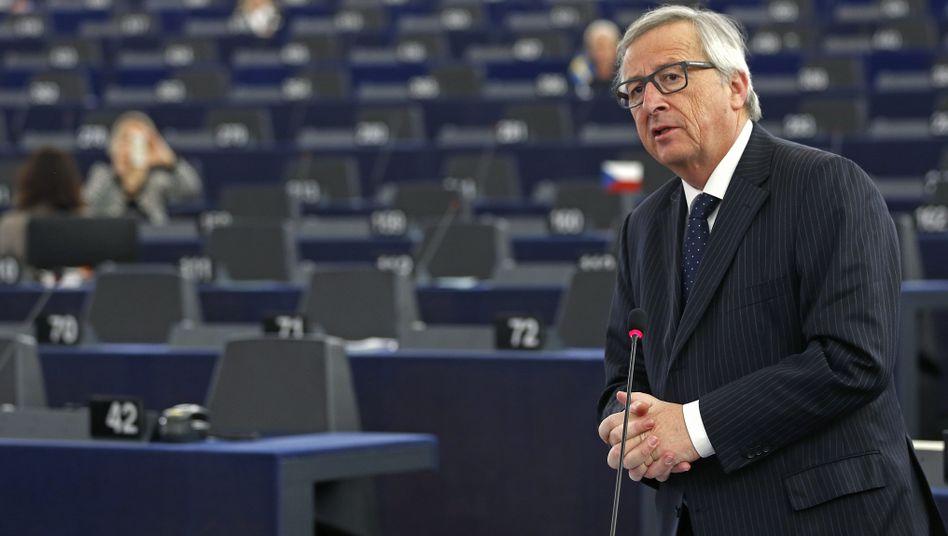 EU-Kommissionspräsident Juncker: Entscheidung über Finanzierung