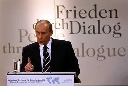 """Wladimir Putin in München: """"Das hat nichts mit Demokratie zu tun"""""""