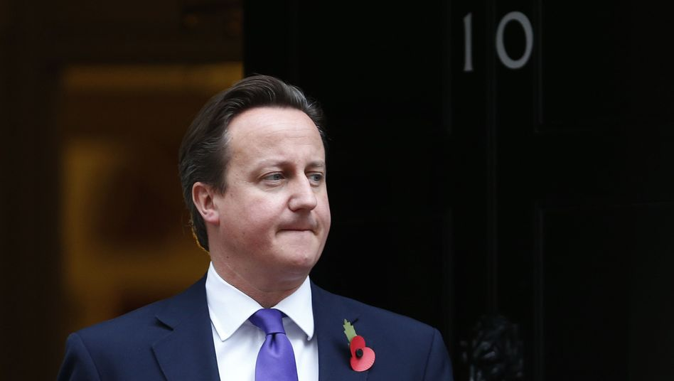 British Prime Minister David Cameron is taking a tough line on the EU budget.