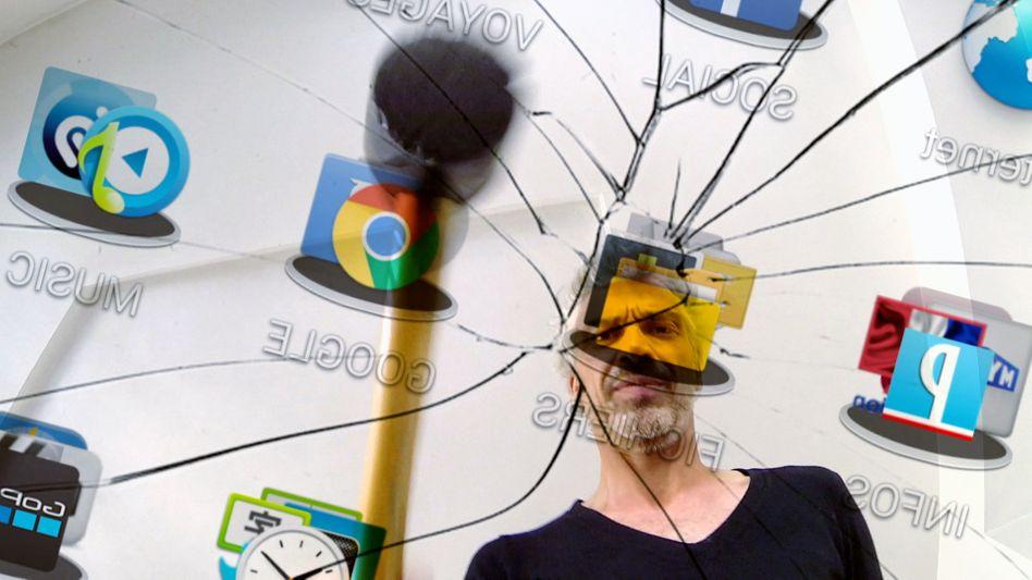 Immer mehr Menschen empfinden Webkonsum als Sucht