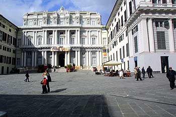 """Palazzo Ducale im Zentrum: """"Genua ist unbeschreiblich schön, prächtig, charakteristisch"""""""