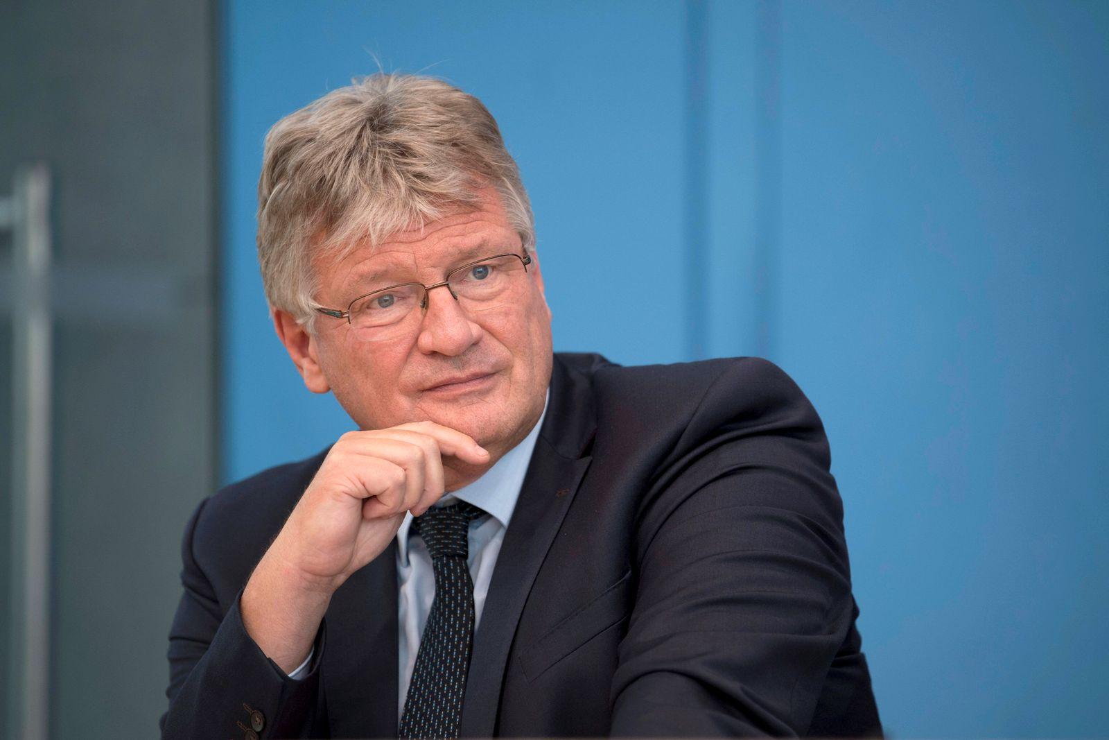 Joerg Meuthen, AfD DEU, Deutschland, Germany, Berlin, 27.09.2021 Joerg Meuthen, Bundessprecher der AfD, waehrend der PK