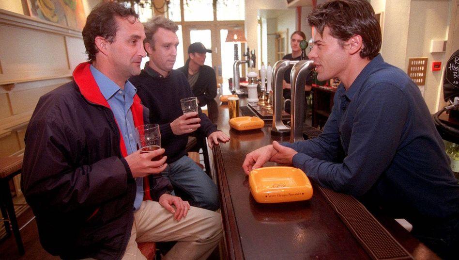 Mit Kollegen auf ein Bier