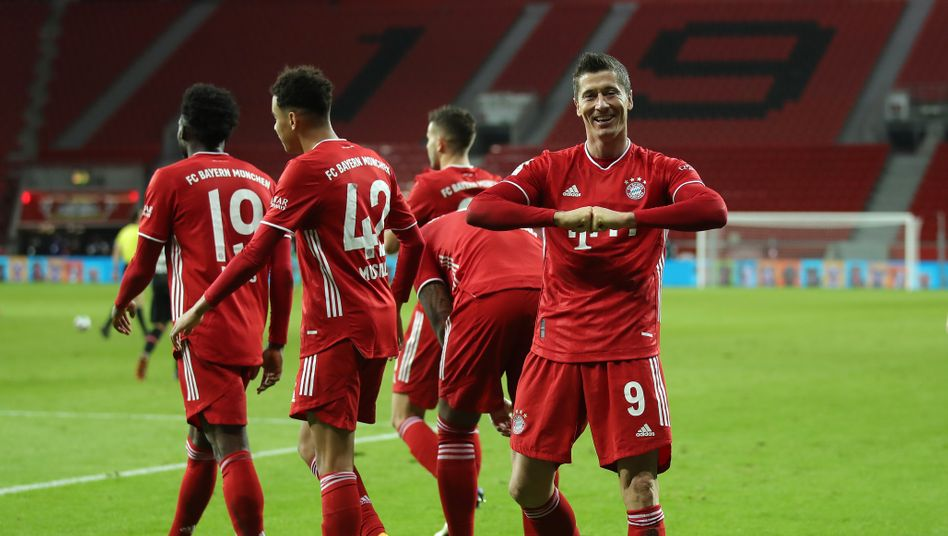 Am Ende durften die Bayern einmal mehr jubeln