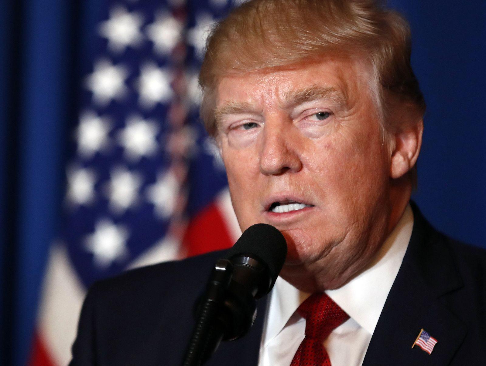 Trump US Syria