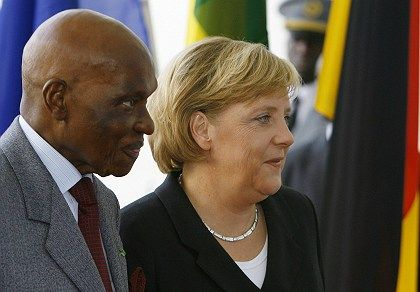 Senegal's President Abdoulaye Wade was in Berlin earlier this month to discuss trade agreements with Chancellor Angela Merkel.