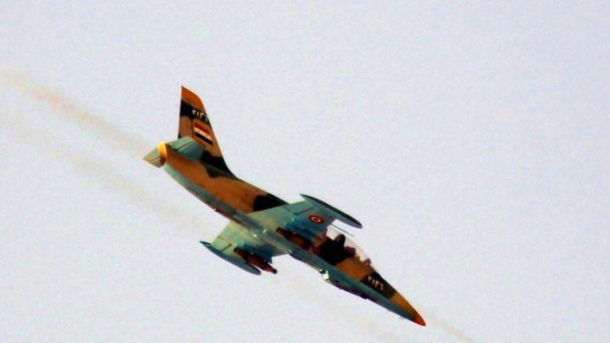 Syrisches Kampfflugzeug