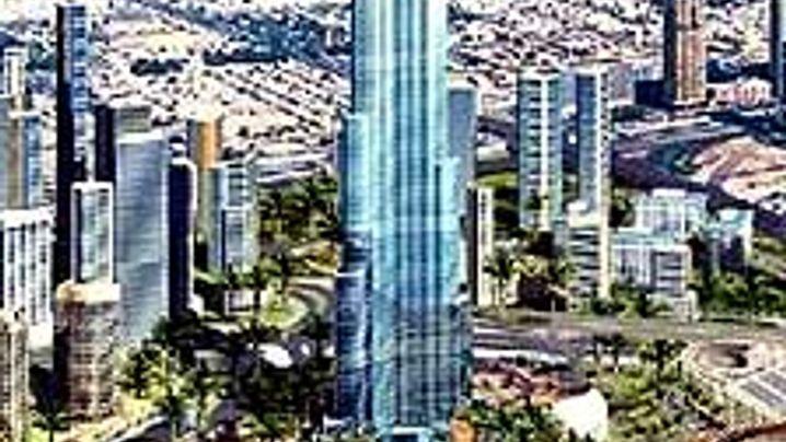 Burj Tower: Wolkenkratzer im Wüstensand